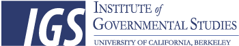 Logo for Institute of Governmental Studies, Berkeley